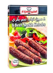 Al Kabeer 8 Beef Seekh Kabab, 320 grams