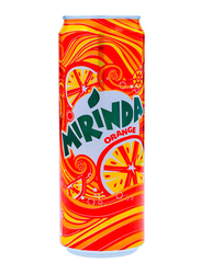 Mirinda Orange Soft Drink Can, 355ml