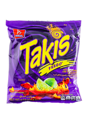 Takis Fuego Peper Lime Tortilla Chips, 113.4g
