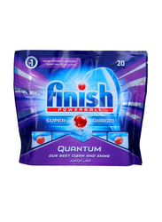 Finish Quantum Max Dishwasher Detergent Tablets, 20 Tablets, 1 Kg