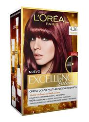 L'Oreal Paris Excellence Intense Hair Color Cream, 4.26 Deep Red, 120ml