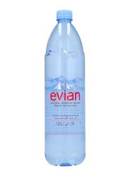 Evian Prestige Natural Mineral Water, 1.25 Liter