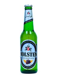 Holsten Black Grape Non-Alcoholic Malt Soft Drink Bottle, 330ml