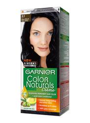 Garnier Color Naturals Hair Color Creme, 2.1 Blue Black, 110ml