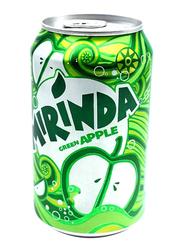 Mirinda Green Apple Carbonated Soft Drink, 330ml