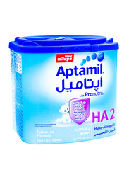 Aptamil Ha 2 Follow On Formula Milk, 400g