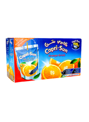 Capri Sun Orange Juice Drink, 10 x 200ml