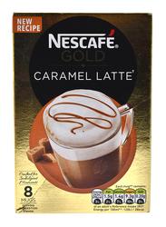 Nescafe Gold Caramel Latte Coffee, 10 x 17g