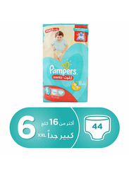 Pampers Pants Diapers, Size 6, Junior XXL, 16+ Kg, Jumbo Pack, 44 Count