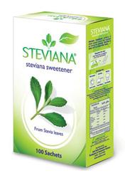 Steviana Sweetner, 100 Sachet x 2.5g