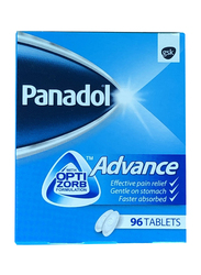 Panadol Advance with Opti Zorb, 500mg, 96 Tablets