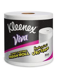 Kleenex Viva Tissue Mega Roll, 1 Roll x 350 Meters