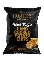 Hunters Sea Salt Black Truffle Hand Cooked Potato Chips, 125g