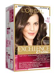 L'Oreal Paris Excellence Hair Colour Creme, 6.1 Profound Dark Blonde, 172ml