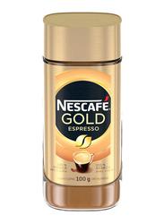 Nescafe Gold Espresso Ground Coffee Jar, 100g