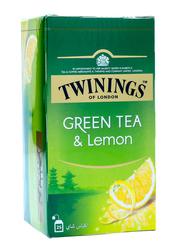 Twinings Lemon Green Tea, 25 Tea Bags x 2g