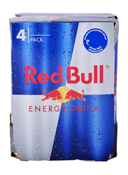 Red Bull Energy Drink, 4 Cans x 250ml