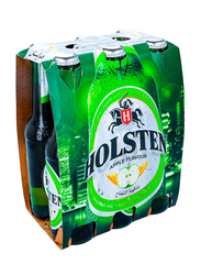 Holsten Apple Non-Alcoholic Malt Soft Drink, 6 Bottles x 330ml