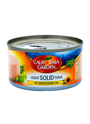 California Garden Light Solid Tuna in Sunflower Oil, 185g