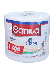 Sanita Gipsy Maxi Tissue Roll, 1500 Sheets