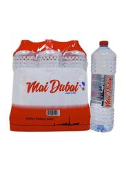 Mai Dubai Drinking Water, 6 Bottles x 1.5 Liter