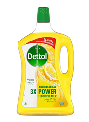 Dettol Lemon 3X Antibacterial Power Floor Cleaner, 1.8 Litres