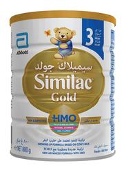 Similac Gold 3 HMO Follow-On Formula Milk, 800gm