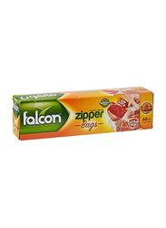 Falcon Freezer Zipper Bag, 30 x 27cm, 40 Pieces