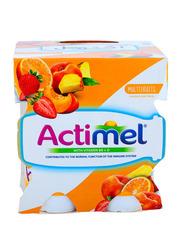 Actimel Multi Fruit Dairy Drink, 4 x 93ml