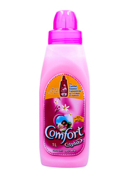 Comfort Flora Soft Scent Liquid Fabric Conditioner, 1 Liter