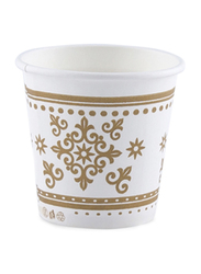 Falcon 2.5Oz 50-Piece Disposable Paper Cup, White/Brown