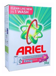 Ariel Automatic Powder Laundry Detergent Touch of Downy Freshness, 3 Kg