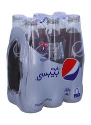 Pepsi Diet NRB Soft Drink, 6 Bottles x 250ml