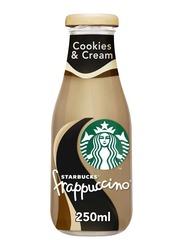 Starbucks Cookies & Cream Frappuccino Coffee, 250ml