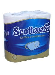 Scott Scottonelle Toilet Tissues Rolls, 4 Rolls