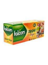 Falcon Freezer Zipper Bag, 18 x 21cm, 50 Pieces