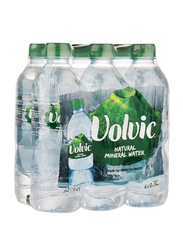 Volvic Natural Mineral Water, 6 Bottles x 500ml