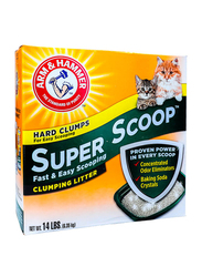 Arm&Hammer Super Scoop Fresh Scent Clumping Litter, 6.4 Kg