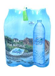 Masafi Mineral Water, 6 Bottles x 1.5 Liter