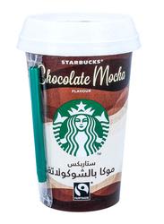 Starbucks Chocolate Mocha Coffee Drink, 220ml