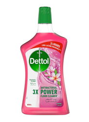 Dettol Jasmin 3X Antibacterial Power Floor Cleaner, 900ml