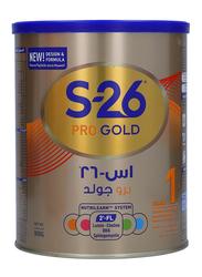 Wyeth S.26 Gold Pro Stage 1 Infant Formula Milk Powder, 900g