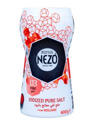 Nezo Iodized Pure Salt Packet, 600g