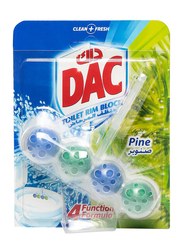 DAC Power Active Pine Toilet Rim Block, 4 Pieces x 51g