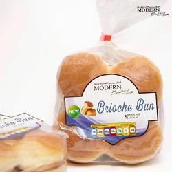 Modern Bakery Bread Bun Cluster Brioche, 8 Pieces x 380g