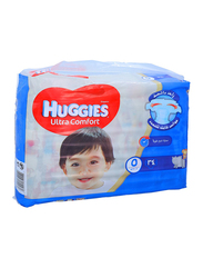 Huggies Ultra Comfort Superflex Diapers, Size 5, 12-22 kg, Economy Pack, 34 Count