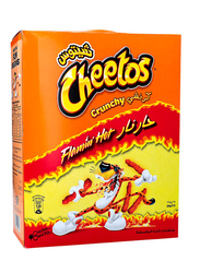 Cheetos Crunchy Flaming Hot Flavored Snacks, 12 Packs x 25g
