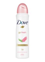 Dove Go Fresh Pomegranate and Lemon Flower Deodorant Spray for Women, 150ml