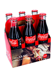 Coca Cola Original Soft Drink, 6 Bottles x 290ml