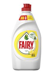 Fairy Lemon Liquid Dishwashing Soap, 450ml
